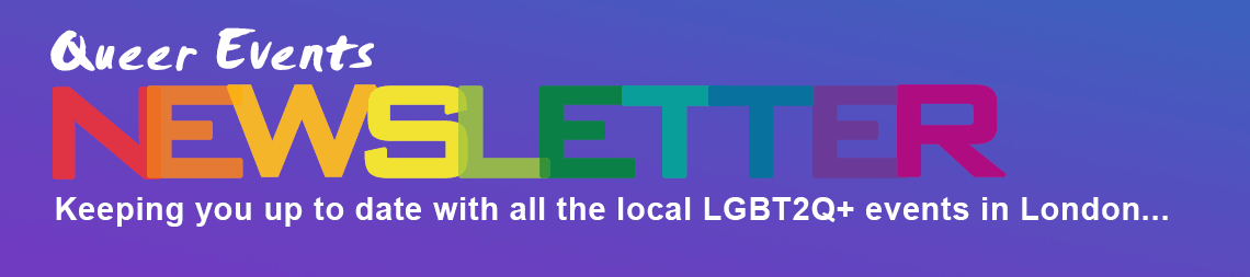 Queer Events Newsletter banner