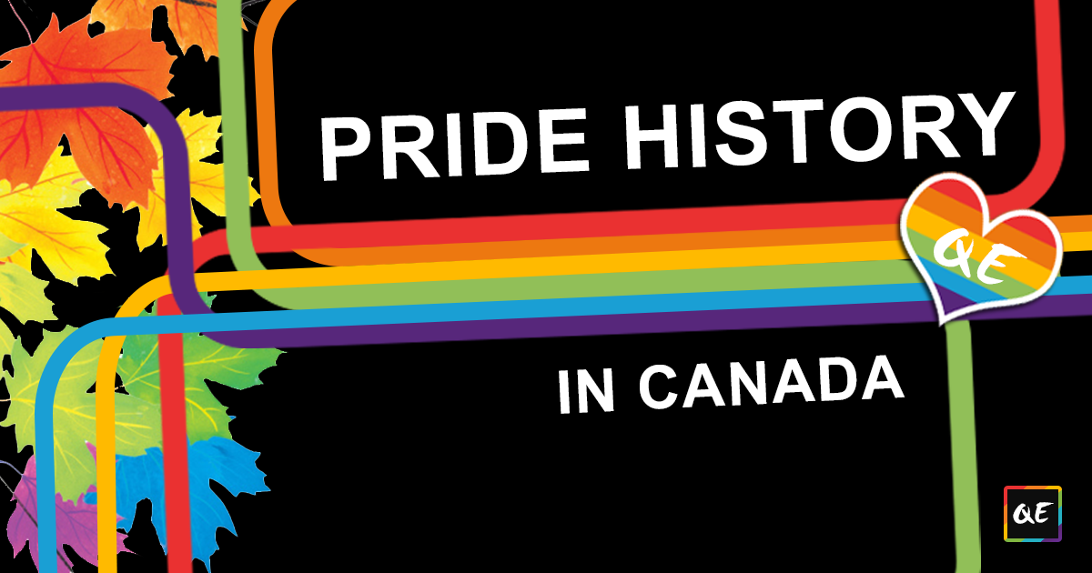 history of Canadian pride