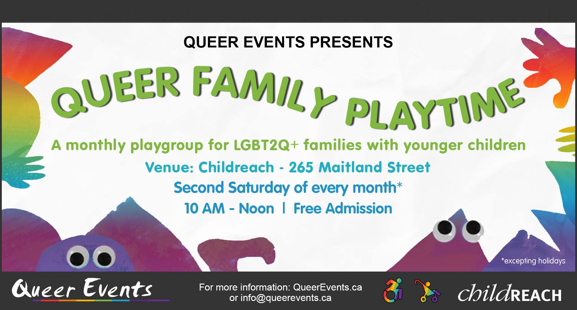 Queer Events presensts Queer Family Playtime