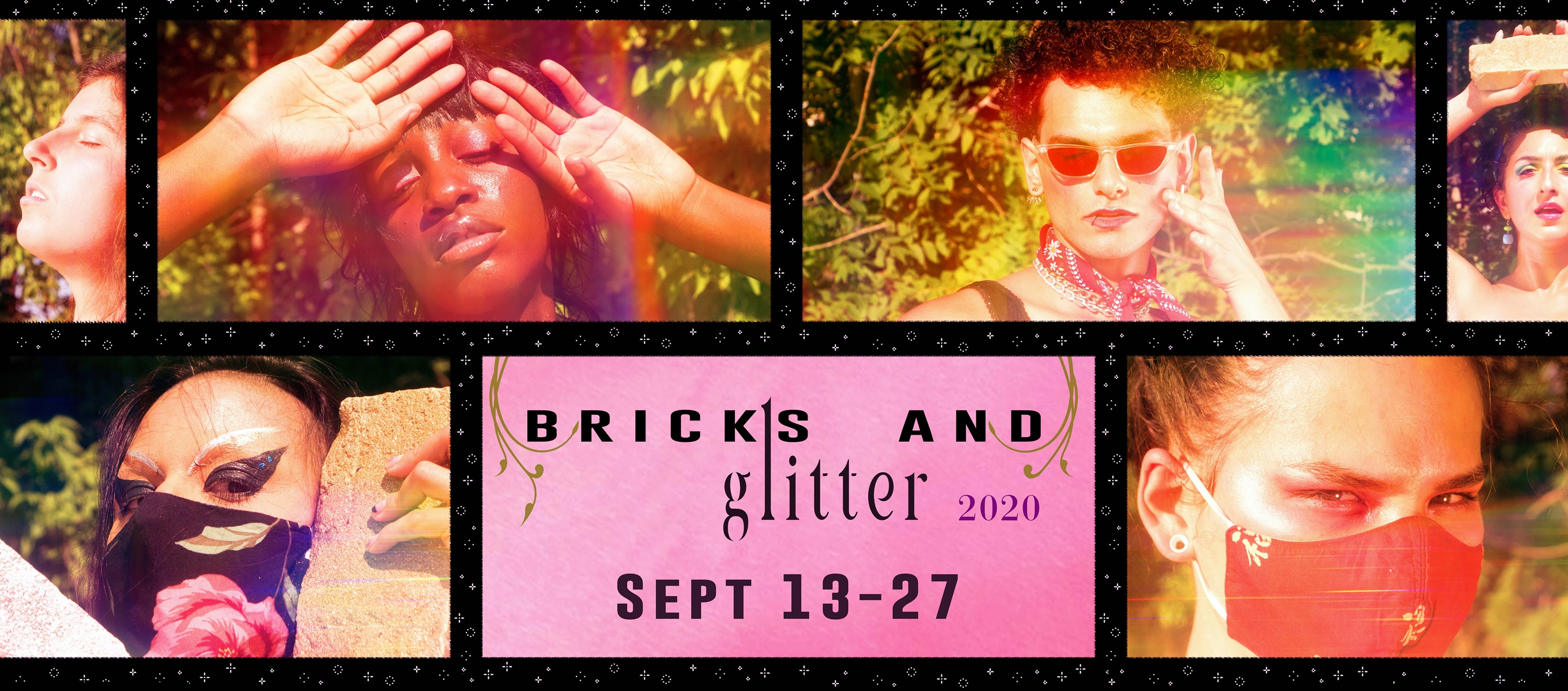 QueerEvents.ca - festival listing - bricks and glitter 2020 banner