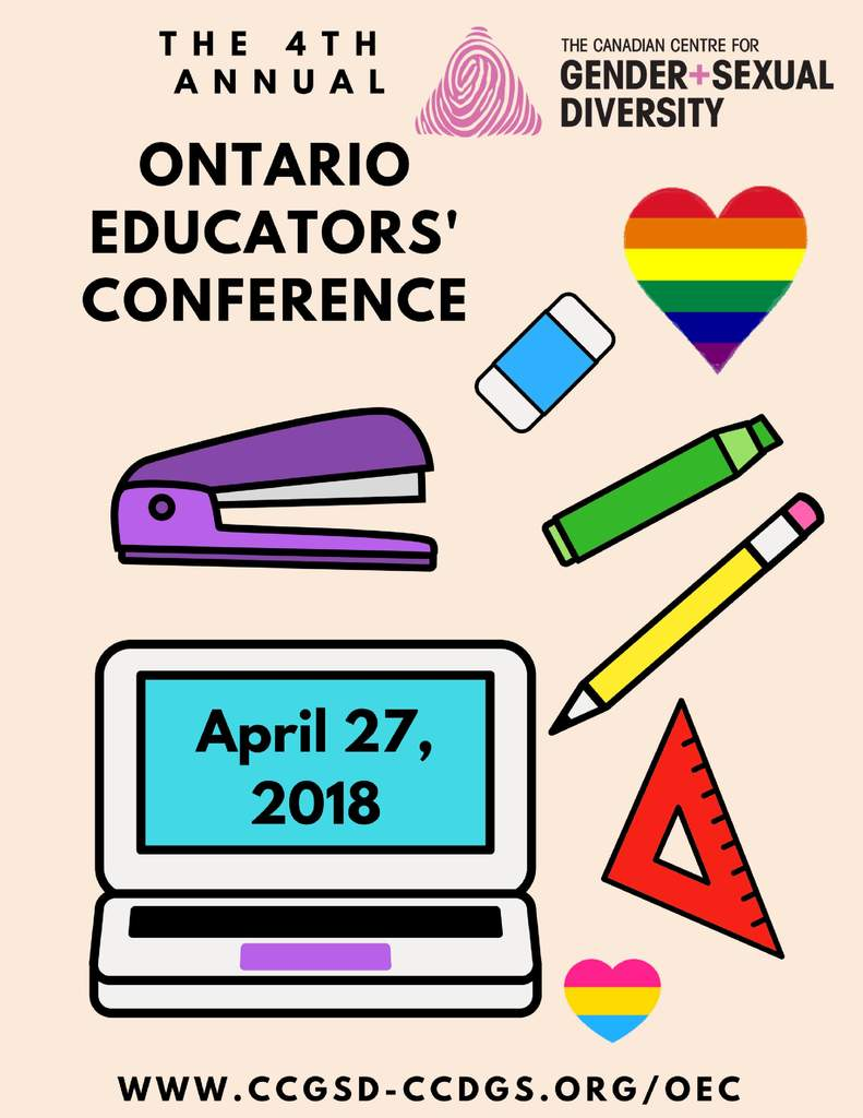 QueerEvents.ca - LGBTQ Educators - Event Poster