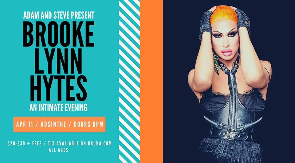 QueerEvents.ca - Hamilton event listing - Brooke Lynn Hytes