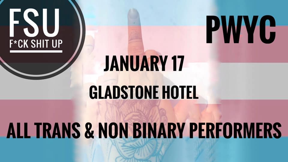QueerEvents.ca - Toronto event listing - FSU - Trans & Non binary performers