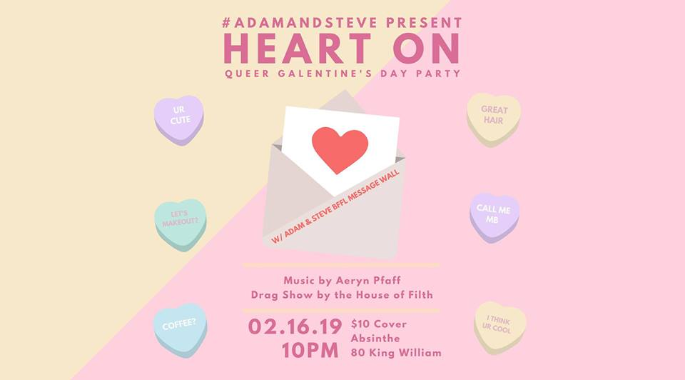 QueerEvents.ca - Hamilton Event Listing - Heart On