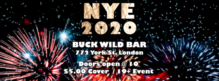 QueerEvents.ca - London event listing - Lumberjax NYE 2020 party