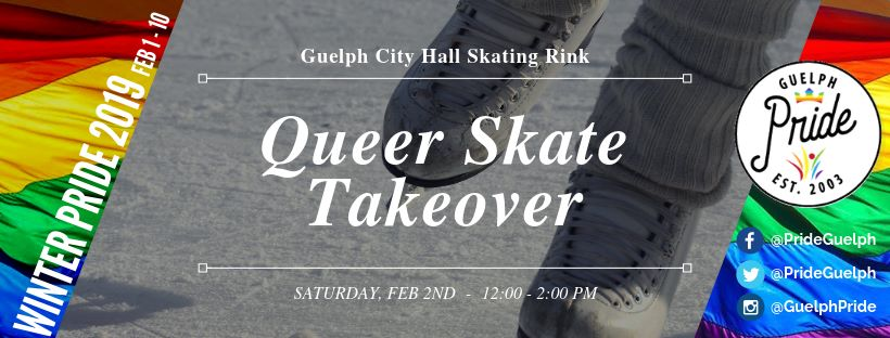 QueerEvents.ca - Guelph Pride Event Listing - Queer Skate Takeover