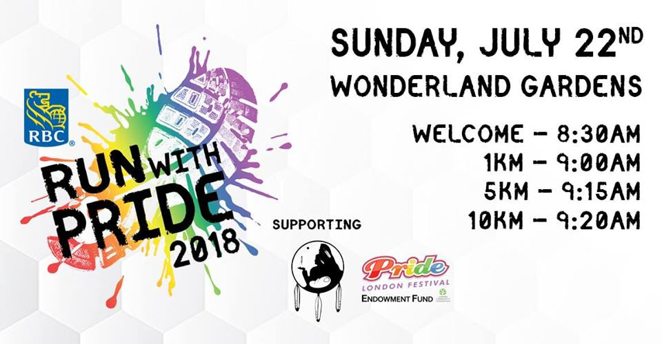 QueerEvents.ca - Pride London Event Listing - Run with Pride 2018