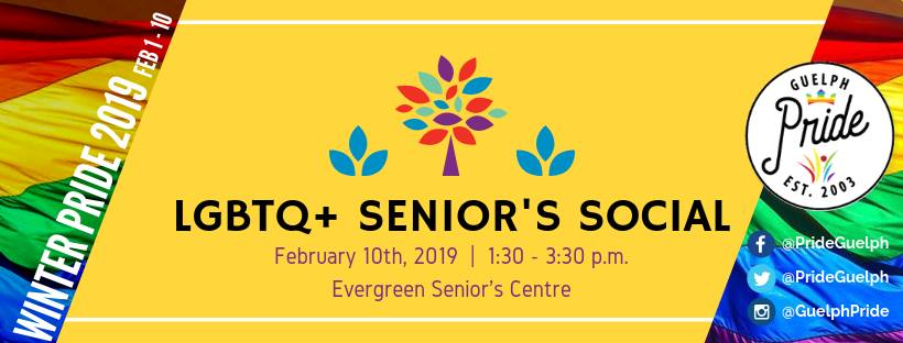 QueerEvents.ca - Guelph event listing - Senior Social