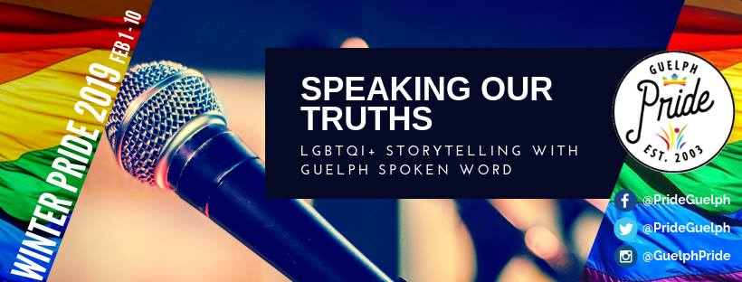 QueerEvents.ca - Guelph Pride Listing - Speaking our truths