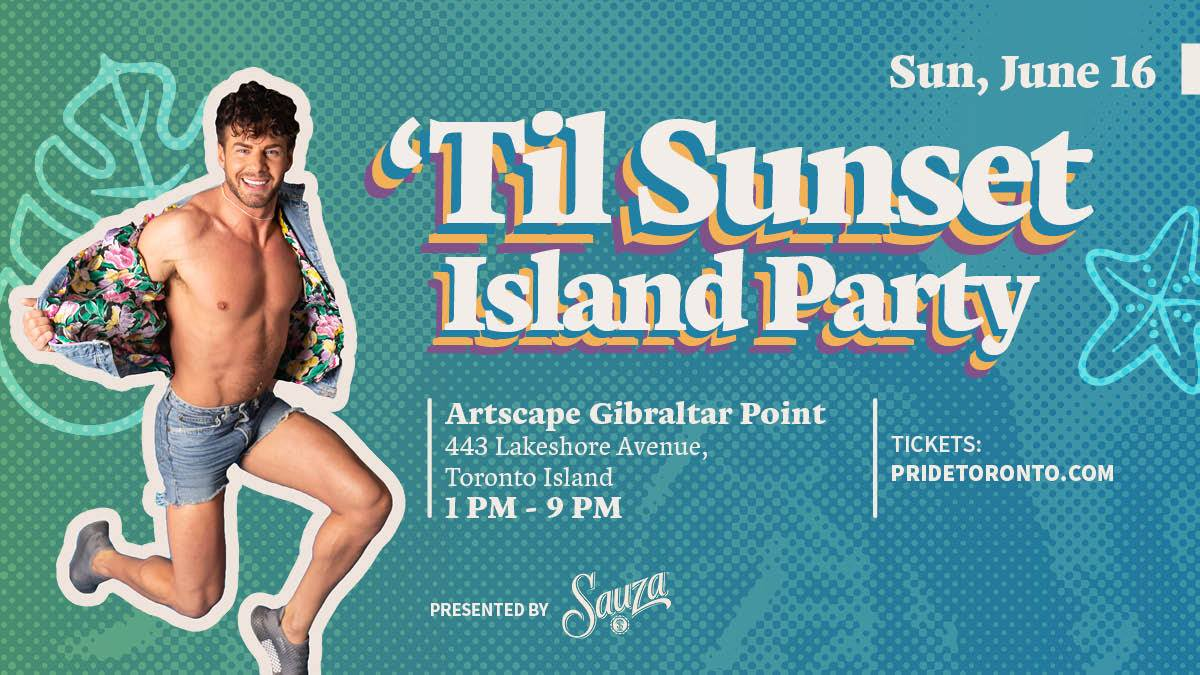 QueerEvents.ca - Toronto event listing - Till Sunset Island Party 2019
