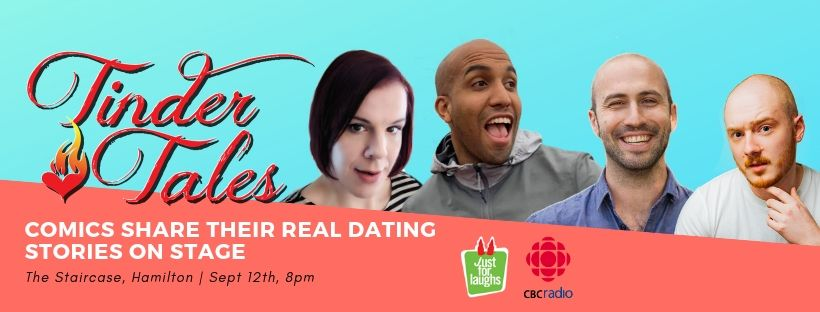 QueerEvents.ca - Hamilton event listing - Tinder Tales Comedy Show