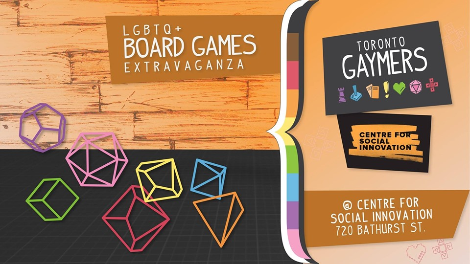 QueerEvents.ca - Toronto event listing - Gaymer Meetup