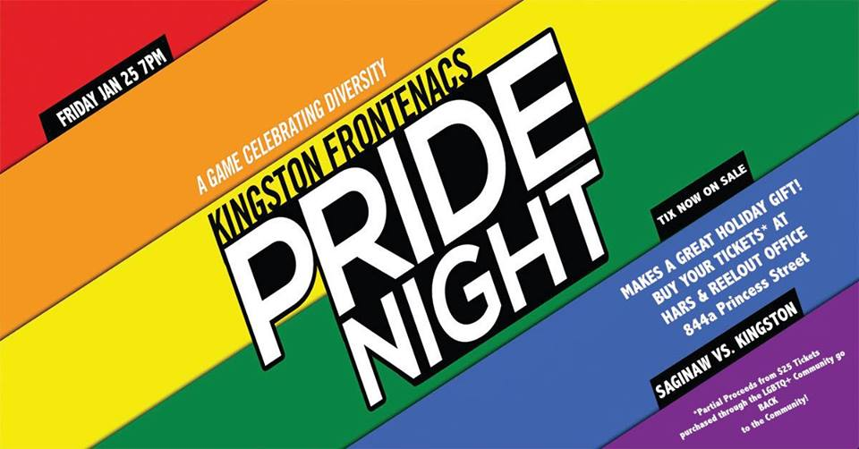 QueerEvents.ca - Banner -Frontenacs Pride Night