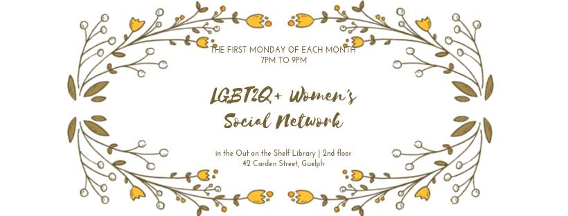 QueerEvents.ca -Guelph Event Listing - LGBT2Q+ Women's Social Group