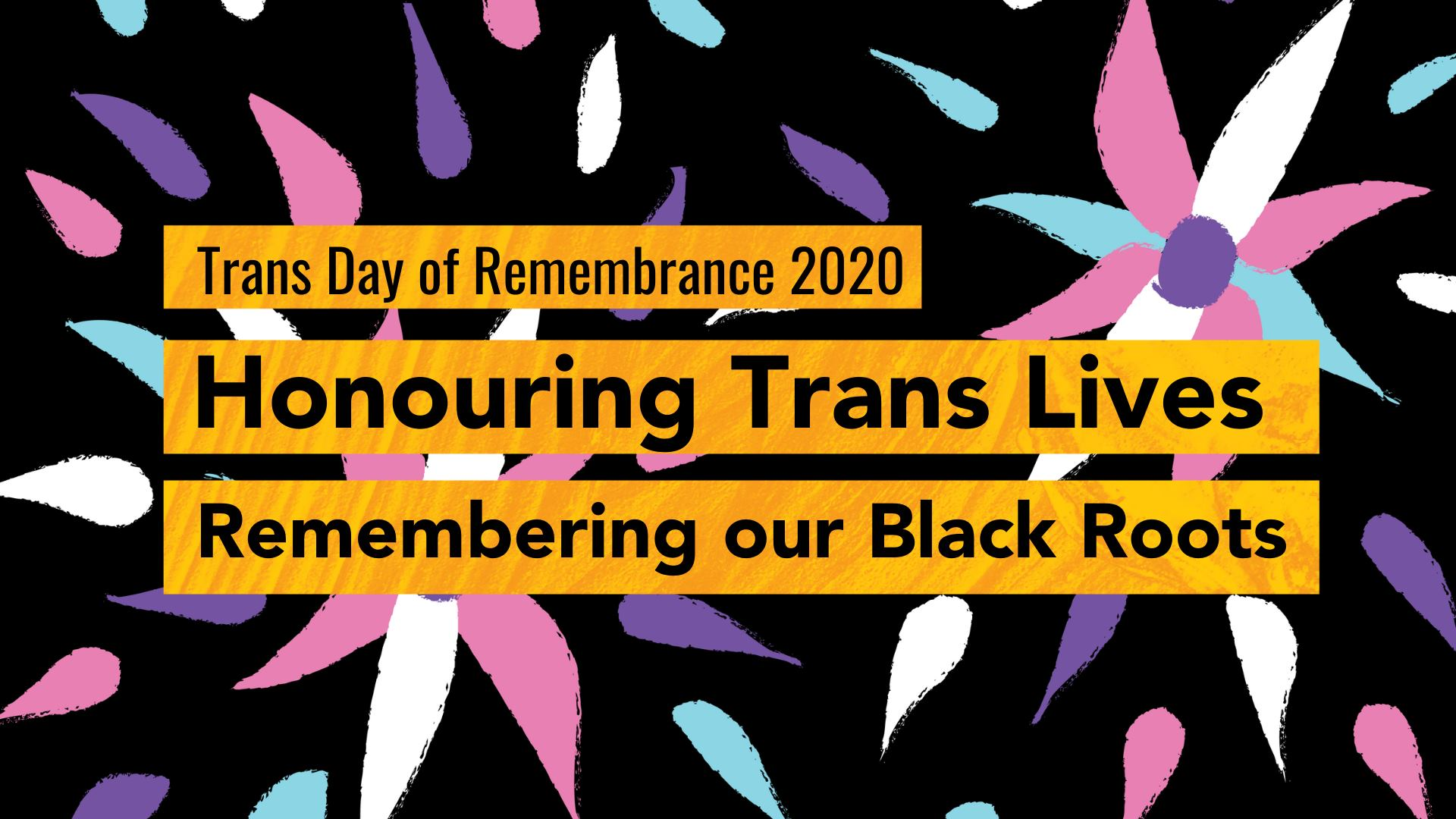 QueerEvents.ca - virutal events - tdor 2020