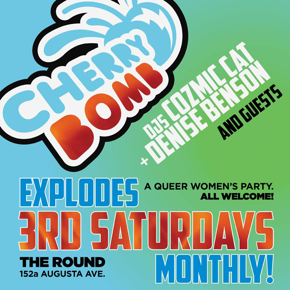 QueerEvents.ca - Toronto Event listing - Cherry Bomb