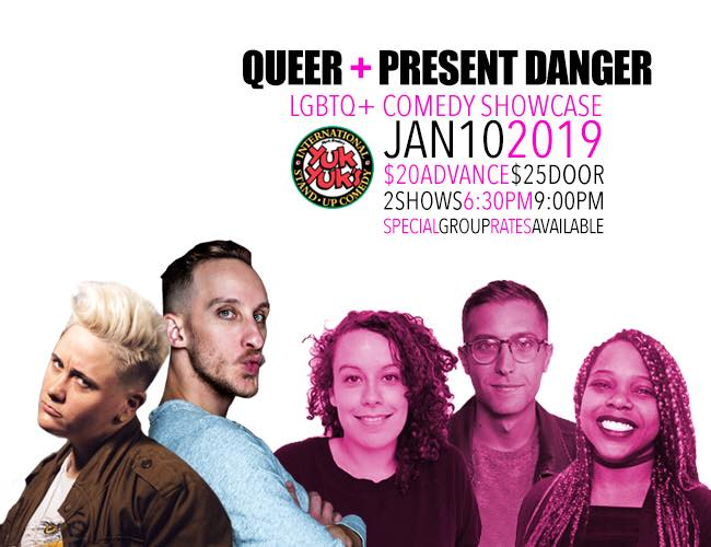 QueerEvents.ca - Ottawa Event listing - QAPD Comedy Show