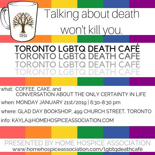 QueerEvents.ca - Toronto Event Listing - LGBTQ Death Cafe