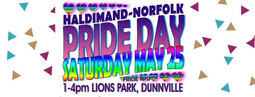 QueerEvents.ca - Festival Listing - Norfolk Pride Day 2019