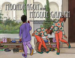 QueerEvents.ca - Moondragon in the Mosque Garden - Book Cover