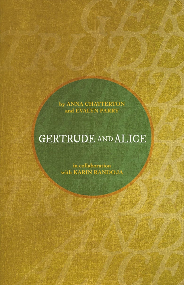 QueerEvents.ca-Gertrude and Alice - Book Cover