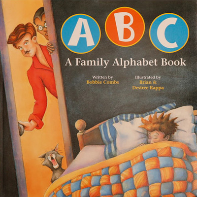 QueerEvents.ca - ABC A Family Alphabet - Book Cover