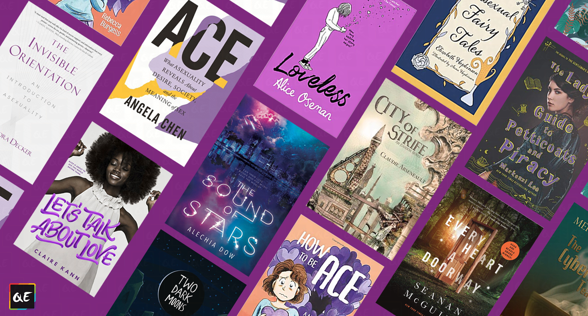 QueerEvents.ca - Banner - Asexual Books