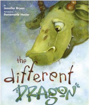 QueerEvents.ca - The Different Dragon - Book Cover