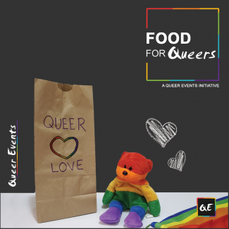 QueerEvents.ca community initiative - food for queers