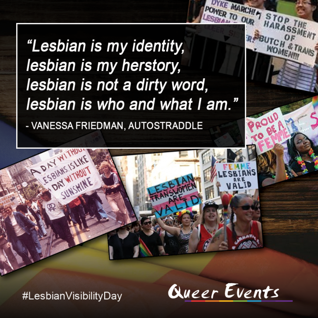 QueerEvents.ca - Lesbian Visibility Day