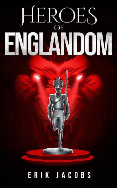 QueerEvents.ca - queer book listing - heroes of englandom book cover image