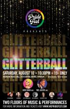 QueerEvents.ca - Windsor event listing - Glitter Ball 2019 - Event Poster