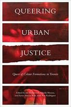QueerEvents.ca - queer book listing - queering urban justice book cover image