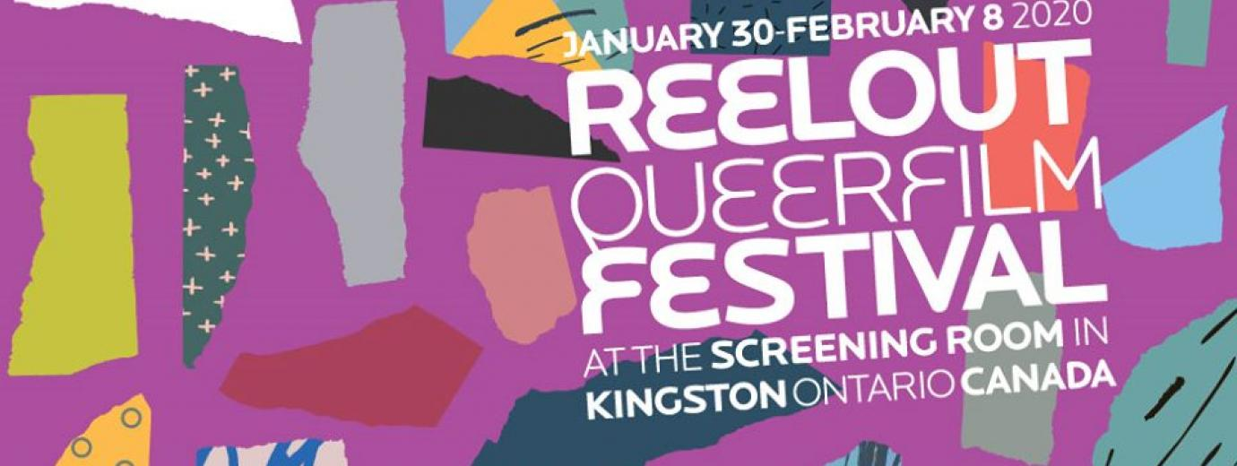 QueerEvents.ca - Festival Listing - Reelout Queer Film Festival 2020 banner