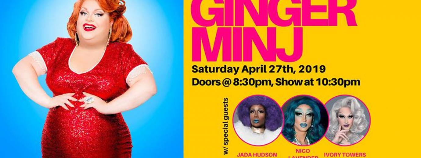 QueerEvents.ca - Hamilton event listing - Ginger Minj drag show