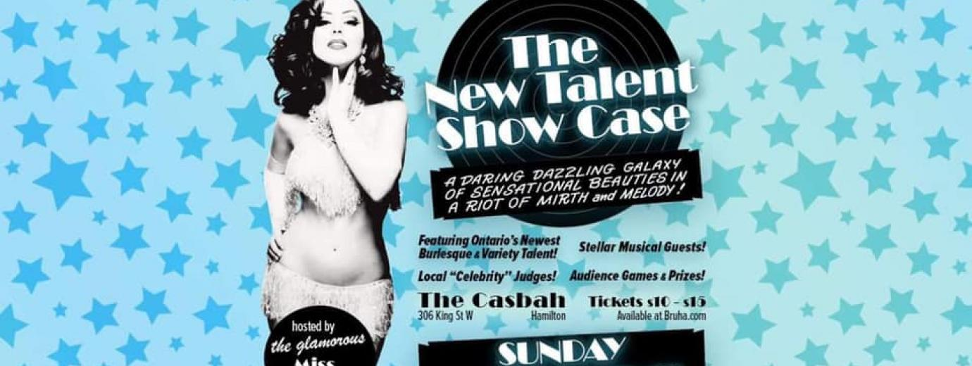 QueerEvents.ca - Hamilton event listing - New Talent Showcase - Burlesque Society Show