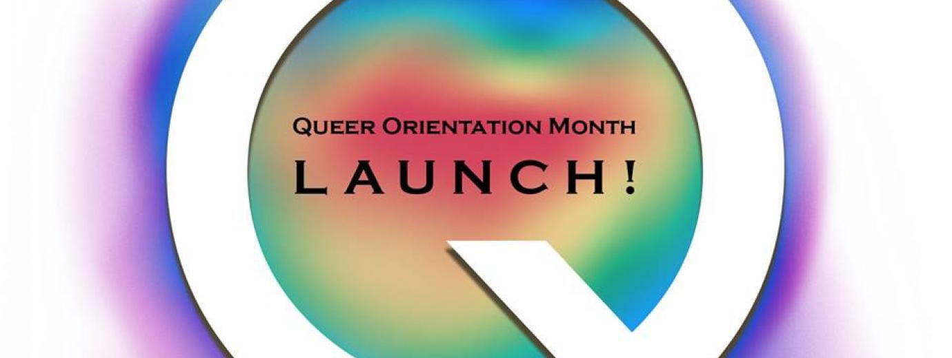 QueerEvents.ca - Queer Orientation Launch - event banner