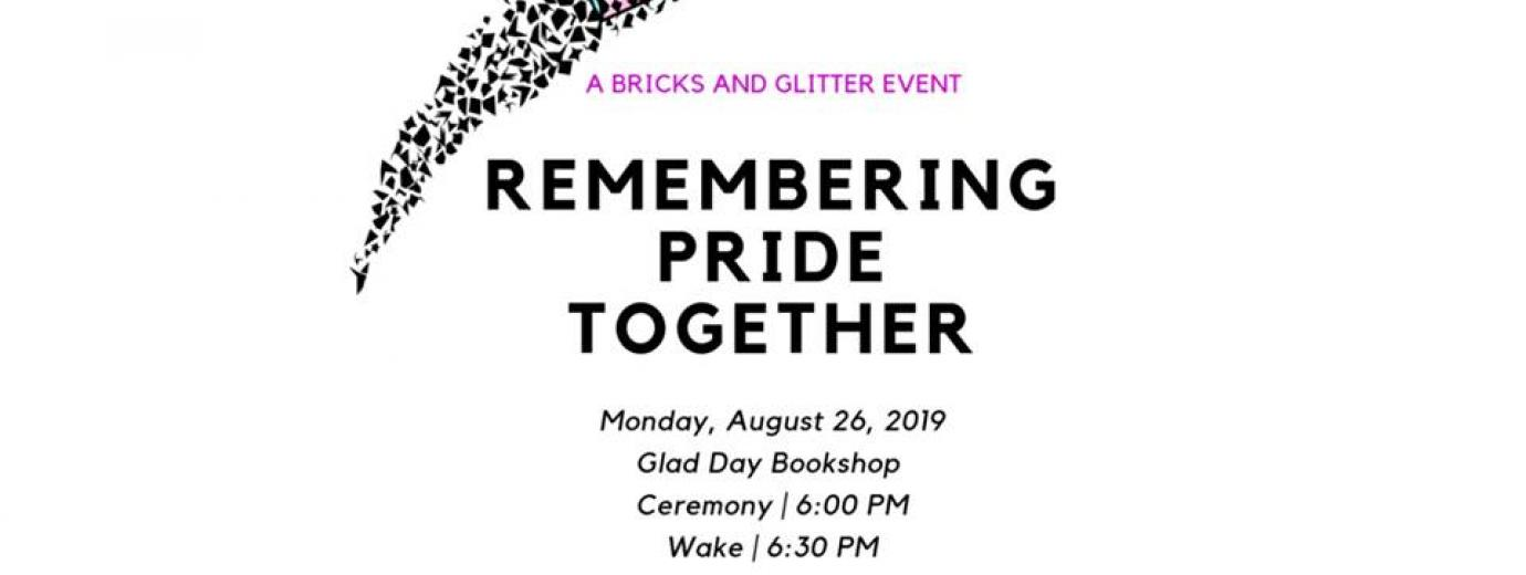 QueerEvents.ca - Toronto event listing - Remembering Pride Together
