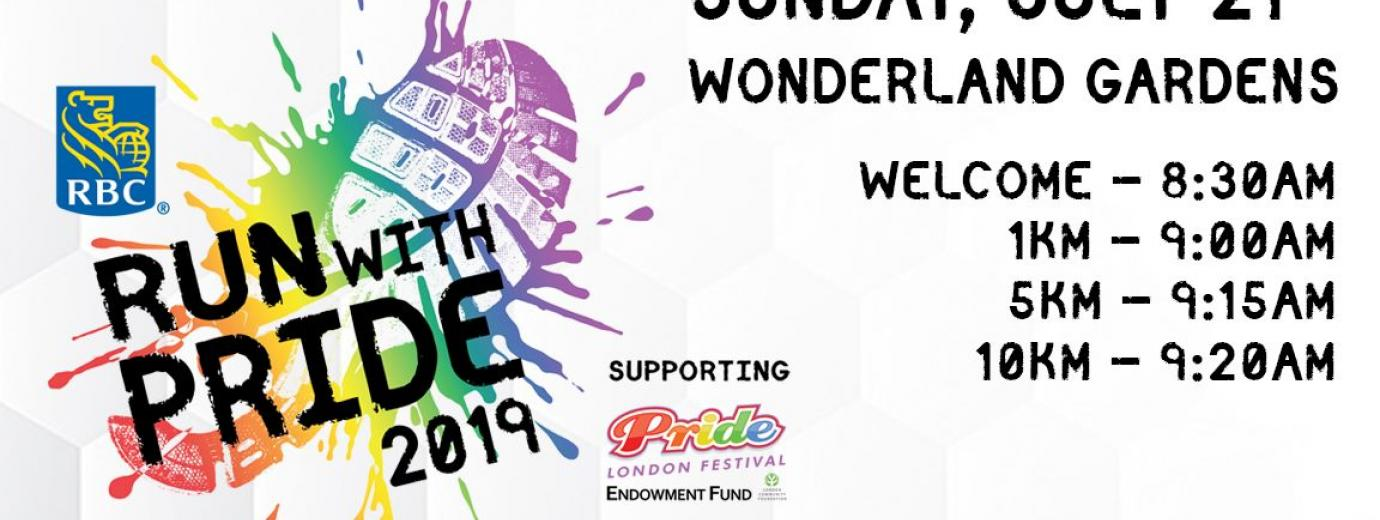 QueerEvents.ca - London event listing - Run with Pride 2019