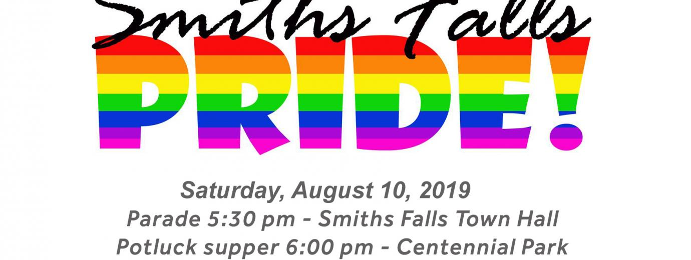 QueerEvents.ca - Smith Falls event listing - Smith Falls Pride Celebration 2109