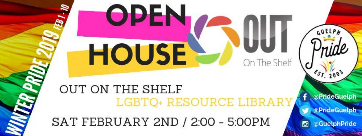 QueerEvents.ca - Guelph - Out on the Shelf- Winter Pride