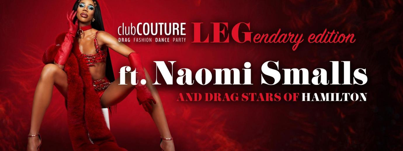 QueerEvents.ca- Hamilton - Event Listing - Naomi Smalls