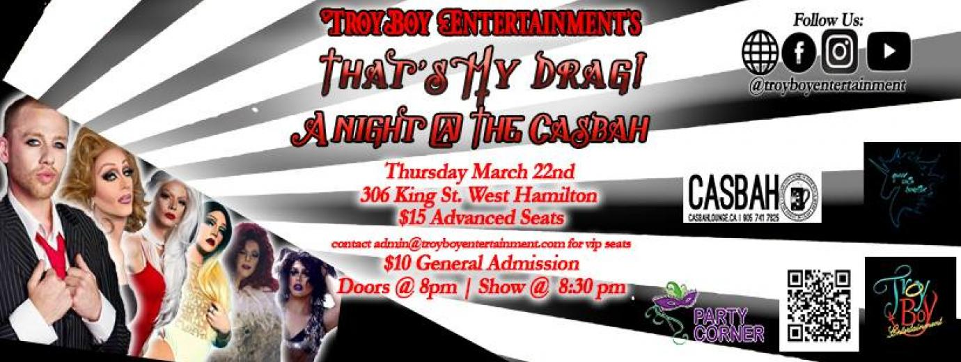 QueerEvents.ca - That's My Drag - event banner