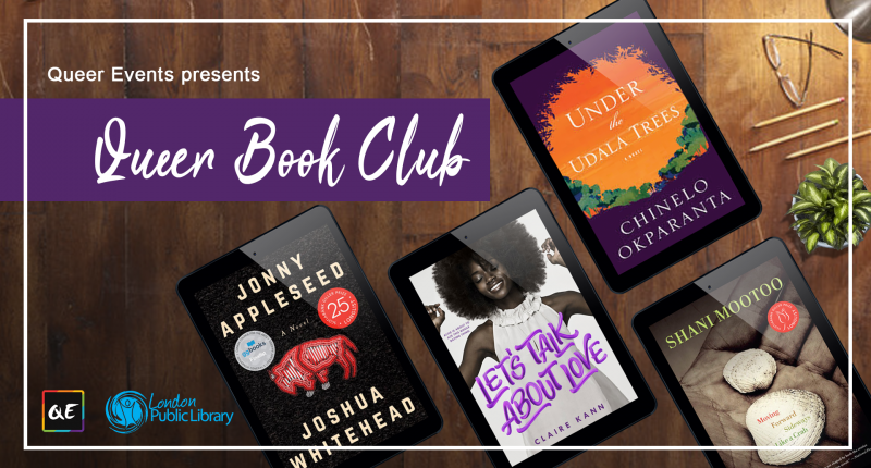 QueerEvents.ca - Presents Queer Book Club