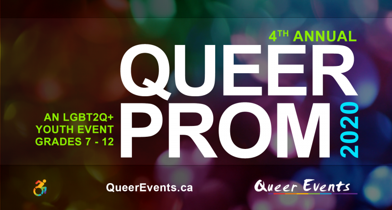 QueerEvents.ca - London Annual Queer Prom for Youth presented by Queer Events