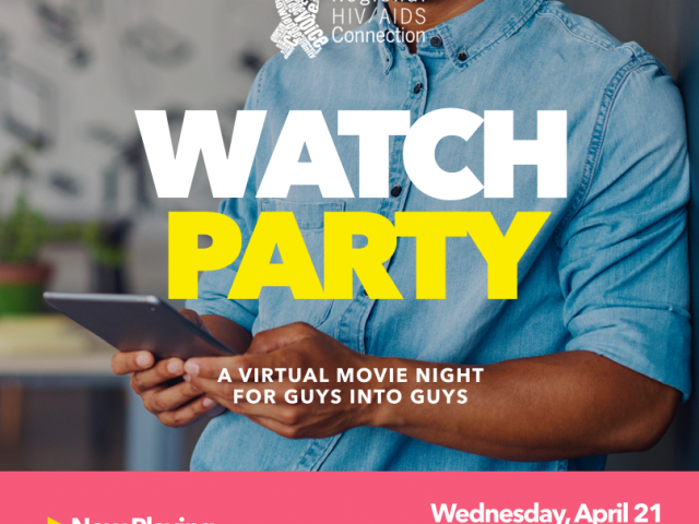 queerevents.ca - community event listing - april watch party poster