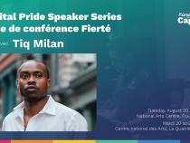 QueerEvents.ca - Ottawa event listing - Speaker Series Tiq Milan