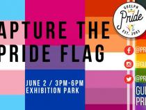 QueerEvents.ca - Guelph  pride event listing -  Capture the Pride Flag