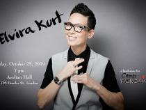 QueerEvents.ca - London event listing - Elvira Kurt Live in London