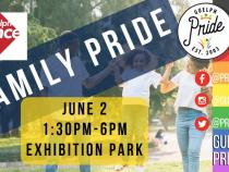 QueerEvents.ca - Guelph  pride event listing -  Queer & Trans Family Pride